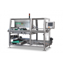 Since its foundation in 1988, CPS has focused on fully automatic case packing systems with a special emphasis on flexible products and trays. CPS is uniquely proficient in packing products of this type at high speeds and efficiently, and there are other benefits as well. CPS machines pack products more compactly than is possible by hand and therefore achieve substantial cost savings. Packing in shelf-ready boxes has also become an important aspect. CPS uses this expertise and experience to produce high-quality case packers.  Flexible bags, MAP trays or flowpacks in all shapes and sizes are packed fully automatically horizontal and vertical at high speed in RSC boxes, cardboard trays, crates, pallet boxes and wheeled containers. In order to supply customer-specific case packing lines, CPS integrates X-ray scanners, metal detectors, checkweighers, coding systems and case erectors in their case packing systems. The total case packing line is normally supplied with the complete product and box supply systems, and may also include merging and buffering systems, to the final discharge of the sealed box, which is completely designed and constructed by CPS in house.  If required, collaborations can be set up with partners in order to deliver complete turn-key projects including packaging machines and palletising systems.  CPS currently produces a complete range of professional case packers.  Making The Impossible Packable !
